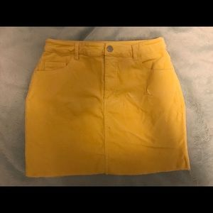 Forever 21 Skirts - YELLOW SKIRT